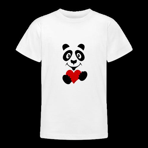 FP10-51A PANDA HEART Tekstiles and Gift products - Nuorten t-paita