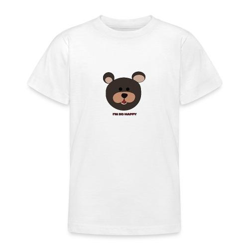 Oso feliz - Camiseta adolescente
