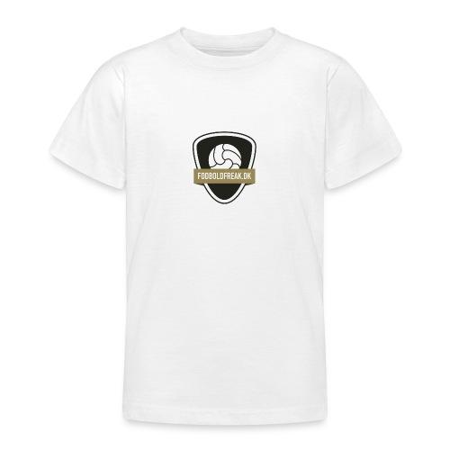 fodboldfreak logo - Teenager-T-shirt