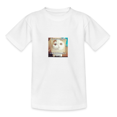 grappige kat - Teenager T-shirt