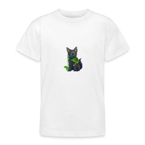 Wolfie Plays Gaming - Teenage T-shirt