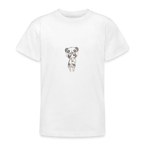 Cute girl panda - Teenage T-shirt