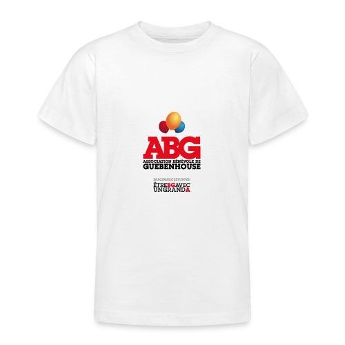 PARCE QUE C'EST UN PEU ÊTRE BG AVEC UN GRAND A - T-shirt Ado