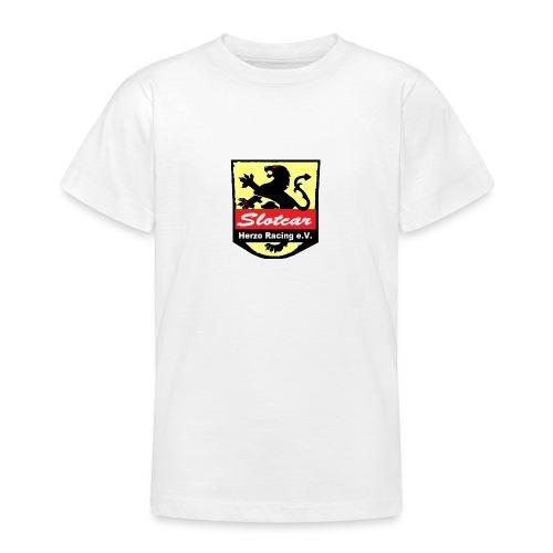 HR Logo Schwarz (für alle Hintergründe) - Teenager T-Shirt