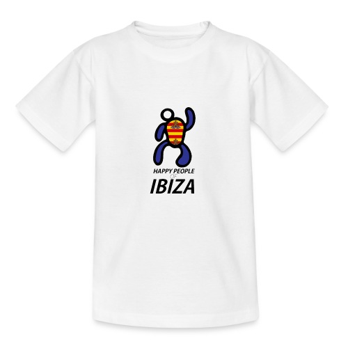 Happy People of Ibiza - Teenager T-shirt