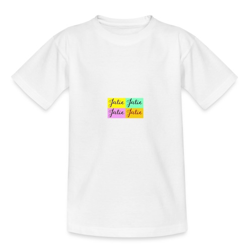 Julie Pop art - T-shirt Ado