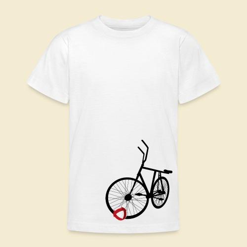 Radball | Black - Teenager T-Shirt