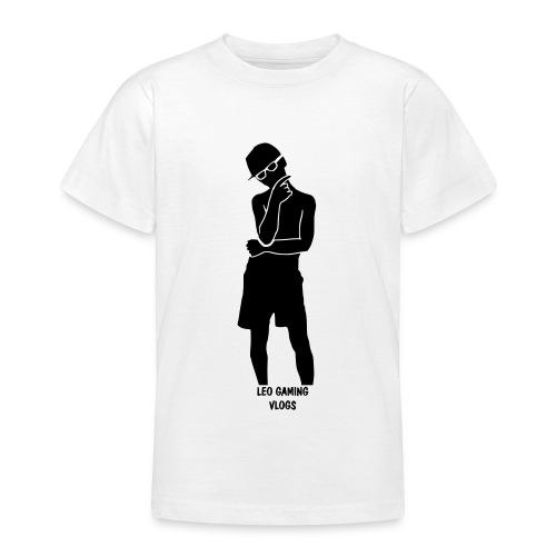 Leo Gaming Vlogs Silhouette - Teenage T-Shirt