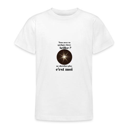 Lorgnette brillant ...amoureux ou inspiré FC - T-shirt Ado