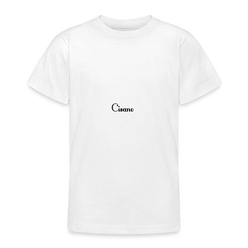 Cisano skrift - T-skjorte for tenåringer