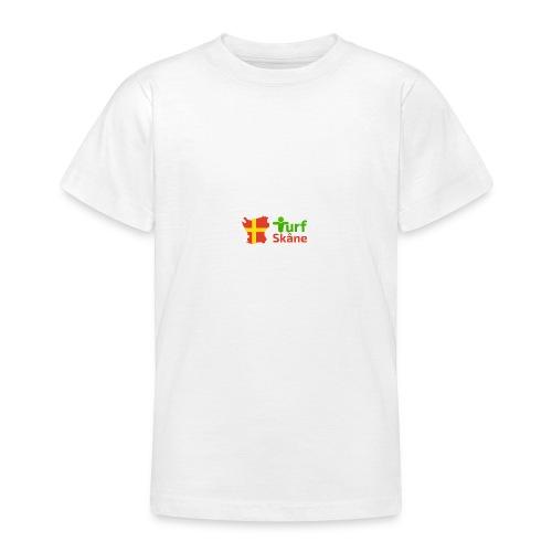 Turf Skåne Logo röd - T-shirt tonåring