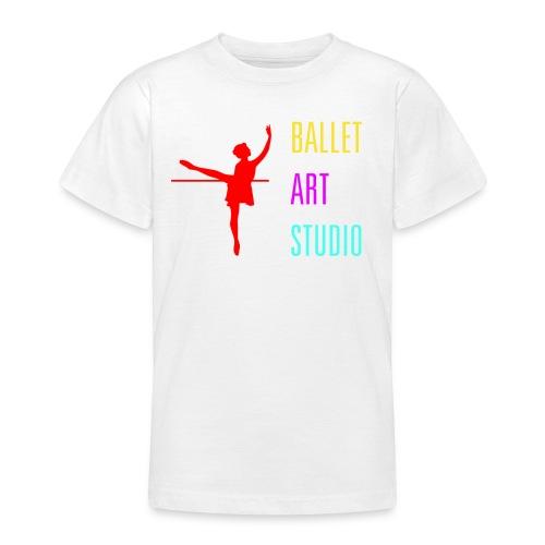 BALLET ART STUDIO BASICS BUNT LOGO / SCHRIFT - Teenager T-Shirt