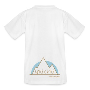 Teddy.Kidswear. – wild child - Teenager T-Shirt