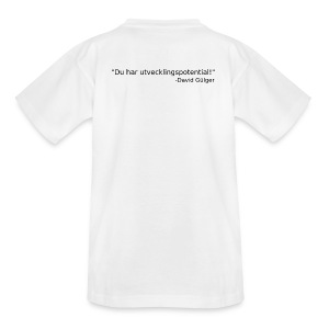 Ju jutsu kai förslag 1 version 1 svart text - T-shirt tonåring