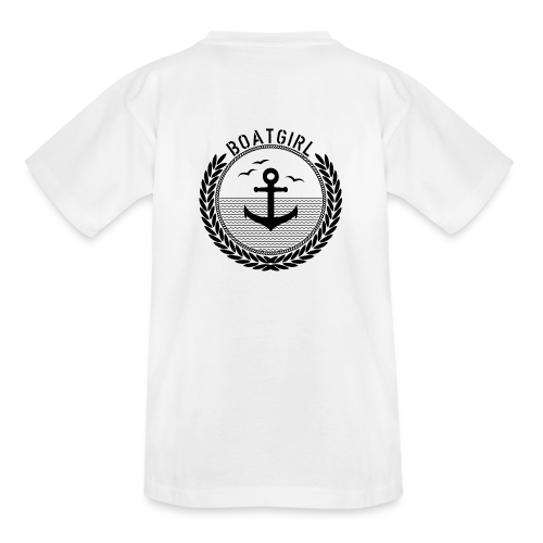 BoatGirl - Anchor - Teenager T-Shirt