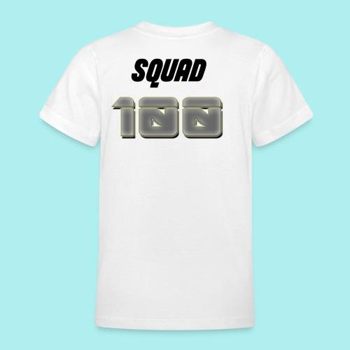 METTALIC 100 SUBSCRIBERS - Teenage T-Shirt