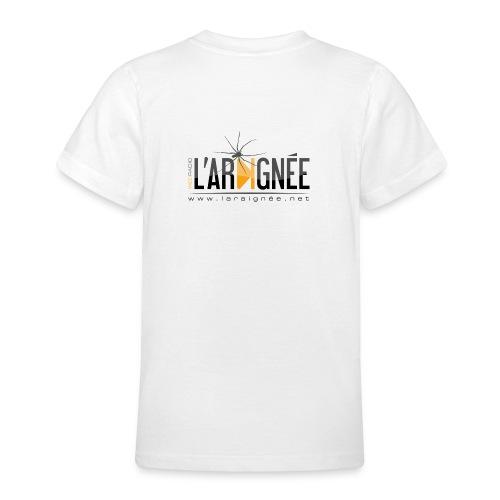 L'ARAIGNÉE, logo noir - T-shirt Ado