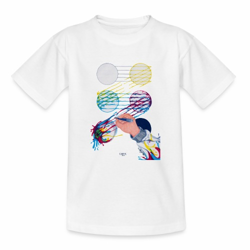 CMYK Mix and flow - Teenage T-Shirt