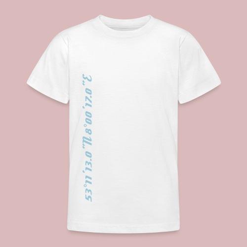 Koordinaten BZ Wels - Teenager T-Shirt