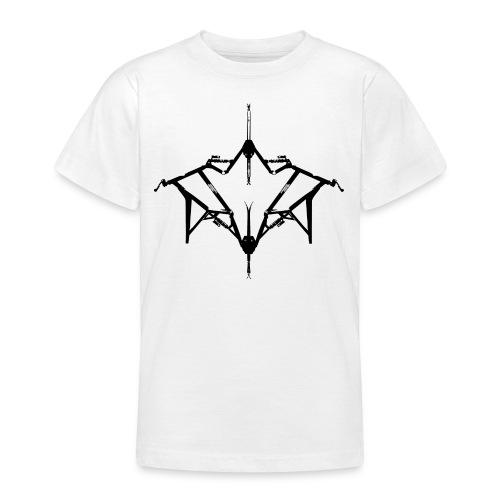 Skibike statisch - Teenager T-Shirt