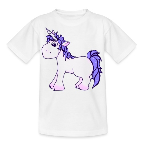 Ennea Einhorn - Teenager T-Shirt