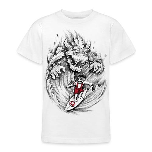Surfing Mario - Teenage T-Shirt