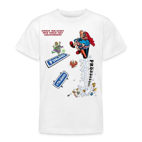 2018 World Fart Champ - Nuorten t-paita