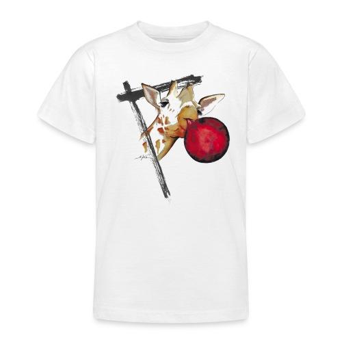 girafe et son ballon - T-shirt Ado