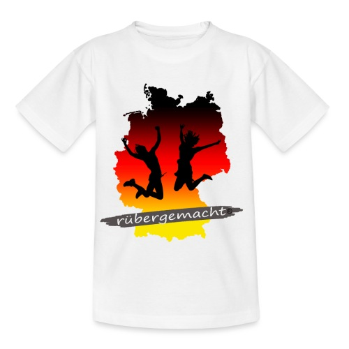 Rübergemacht - Teenager T-Shirt
