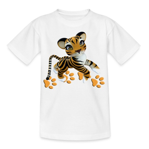 Kleiner Tiger - Teenager T-Shirt