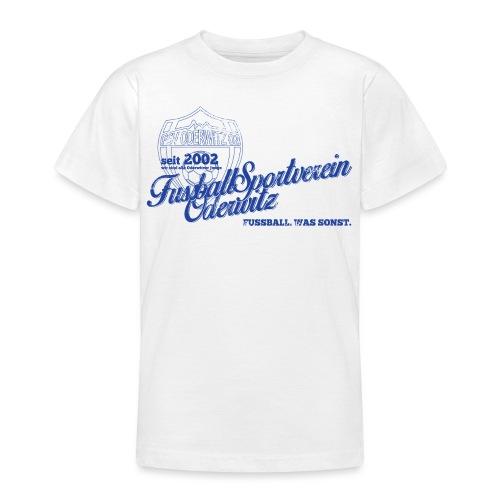 Shirt V2 Design blau Rev1 gif - Teenager T-Shirt