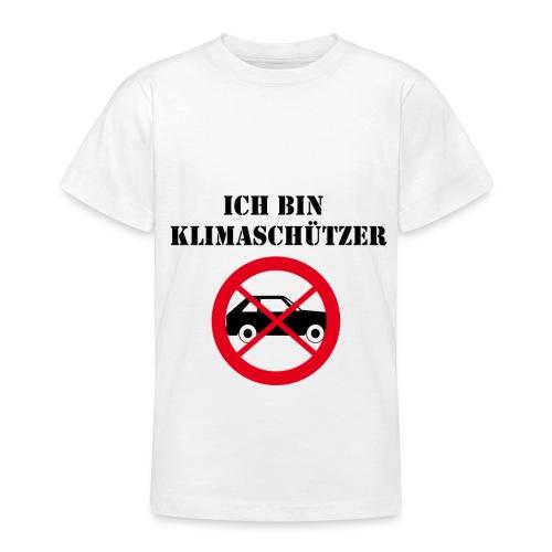 Ich bin Klimaschützer - Teenager T-Shirt