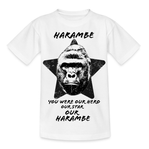Harambe - Teenager-T-shirt