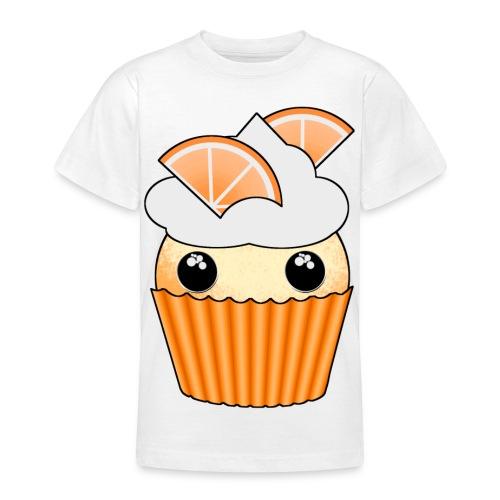 muffins apelsin orange med klyftor - Teenage T-Shirt
