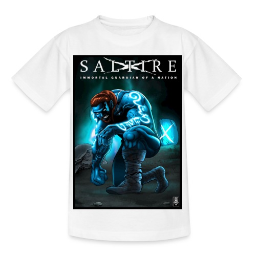 Saltire Invasion1 - Teenage T-Shirt