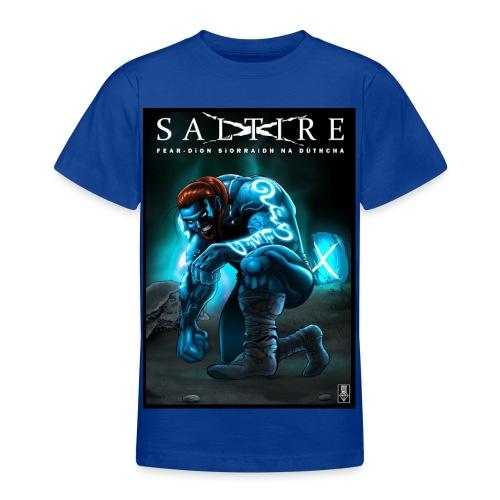 Saltire Invasion Gaelic - Teenage T-Shirt