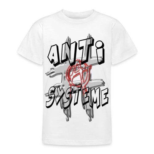 H-Tag Anti Système - T-shirt Ado