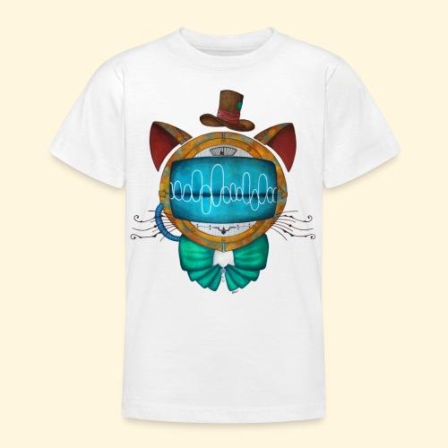 Shoupignon - Chat robot Steampunk - T-shirt Ado