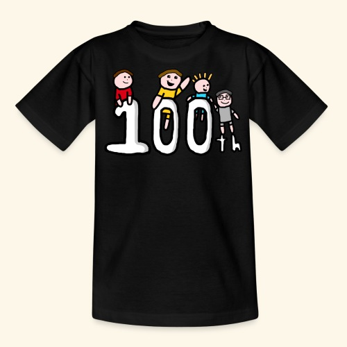 100th Video - Teenage T-Shirt