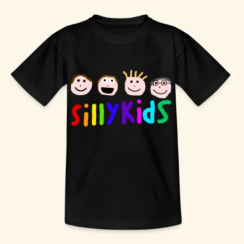 Sillykids Logo - Teenage T-Shirt