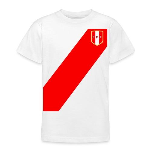 Seleccion peruana de futbol (Recto-verso) - Camiseta adolescente