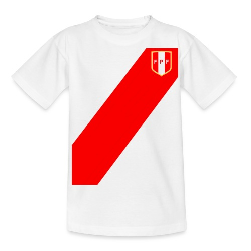 Seleccion peruana de futbol (Recto-verso) - Teenager T-Shirt