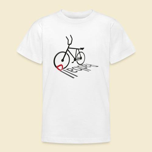 Radball   Shadow - Teenager T-Shirt