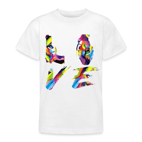 LOVE LION RICHE - T-shirt Ado
