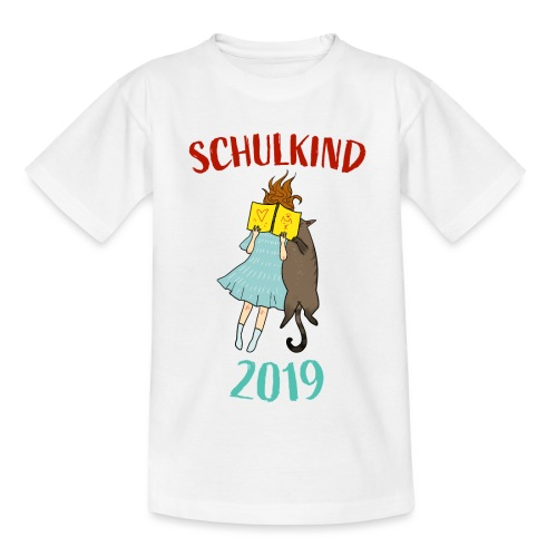Schulkind 2019 | Einschulung und Schulanfang - Teenager T-Shirt