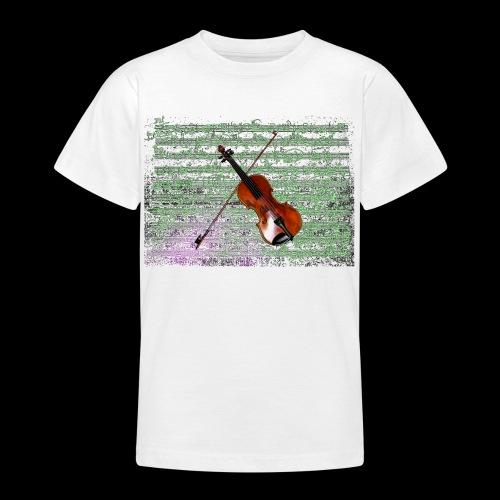 Violin - Teenage T-Shirt