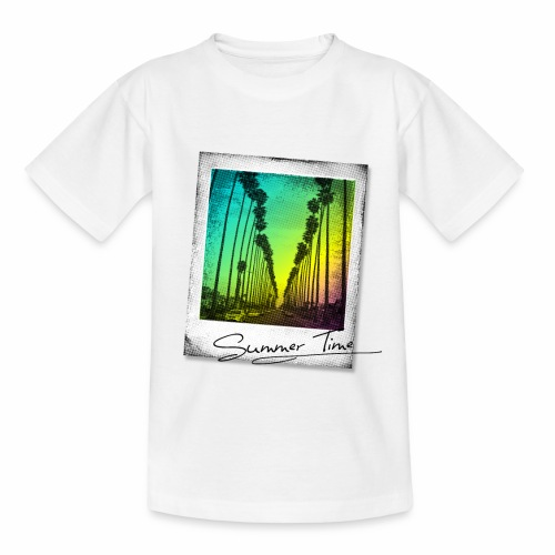 Summer Time - Teenage T-Shirt