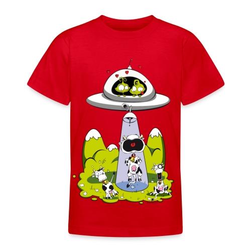 enlevement vache - T-shirt Ado
