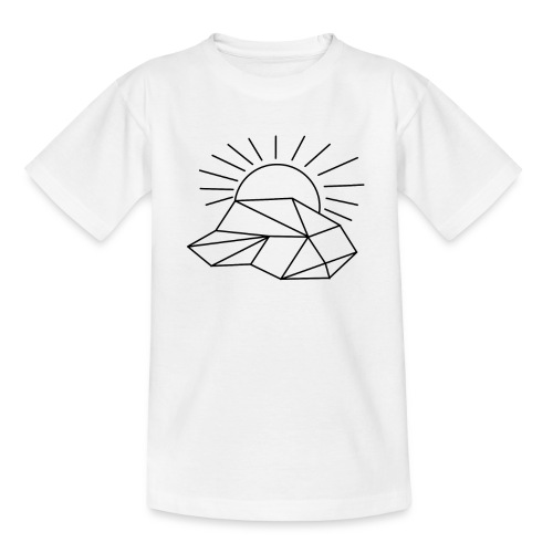 Sonne Wolke - Teenager T-Shirt