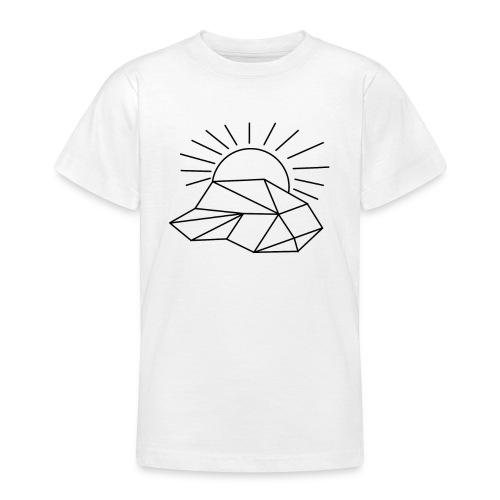 Sonne Wolke - Teenager T-Shirt